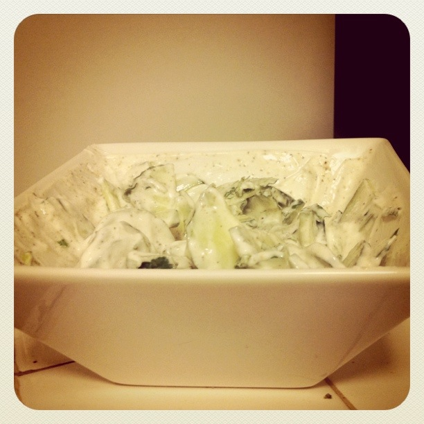 cucumber mint yogurt salad
