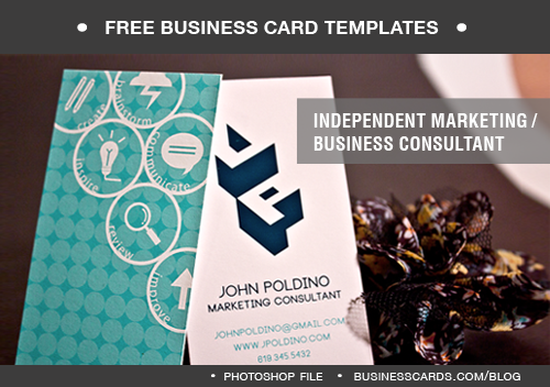 Marketing Consultant Business Card